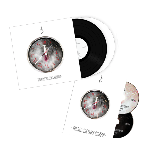 TDW - The Days The Clock Stopped - Vinyl & CD/DVD combo pack